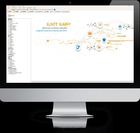 Imagen Mac Asesoría Informática EXIT ERP software de gestión Asturias